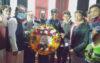 কুলাউড়ায় গ্রাম ডাক্তার ঐক্য কল্যাণ সোসাইটির পুস্পার্ঘ অর্পণ