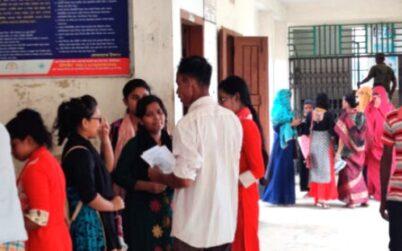 কমলগঞ্জে শিক্ষার্থীদের   চরম ভোগান্তি